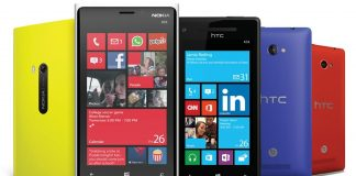 smartfon z windows phone telefon