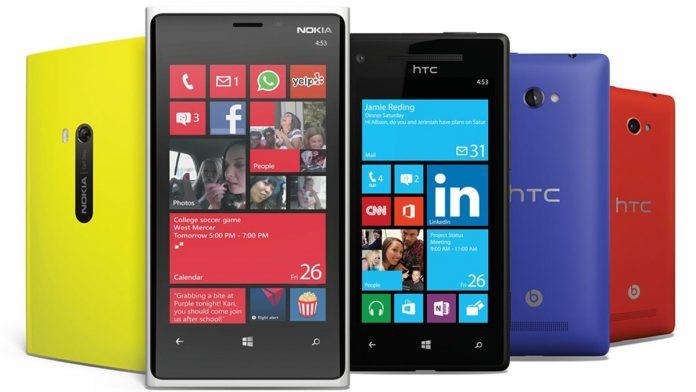 smartfon z windows phone telefon