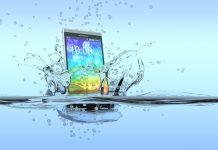 Telefon smartfon wodoszczelny